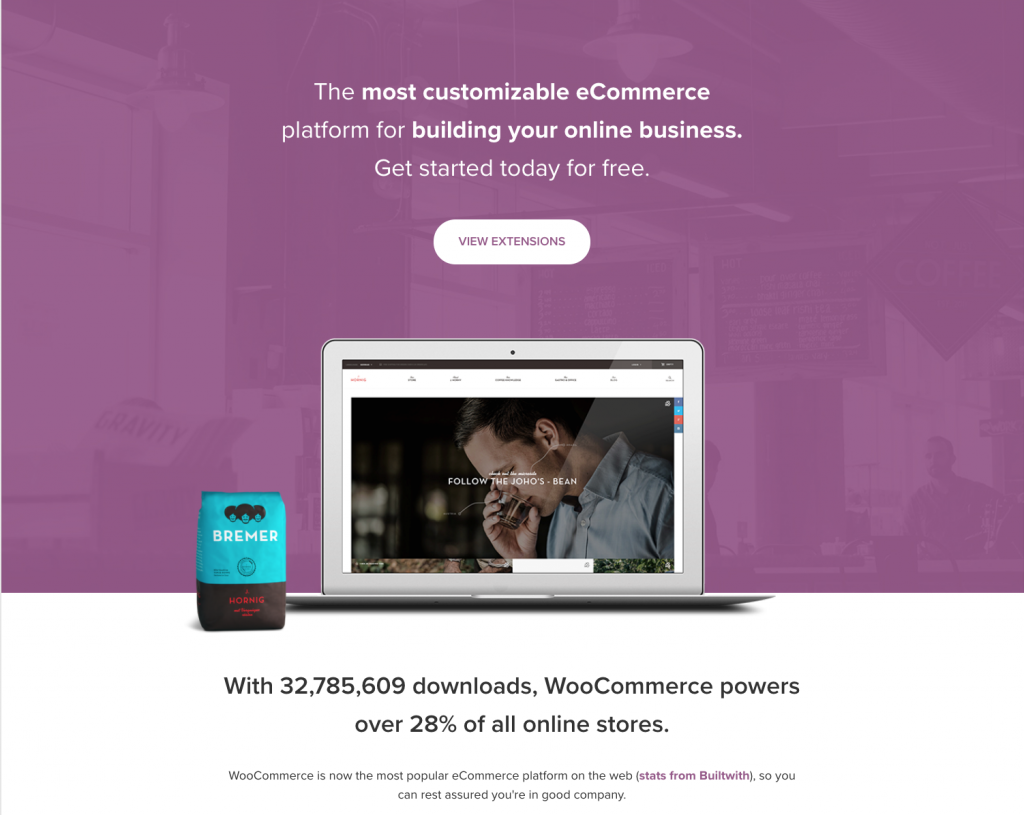 about woocommerce
